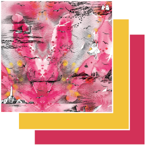 Trikoo Muumit - Meriseikkailu pinkki