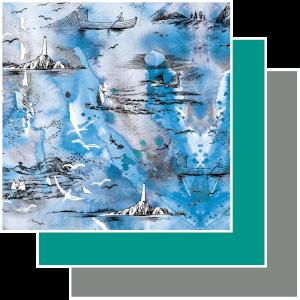 Trikoo Muumit - Meriseikkailu sininen