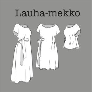 kangaskapina maito mekko